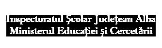 Inspectoratul Școlar Județean Alba