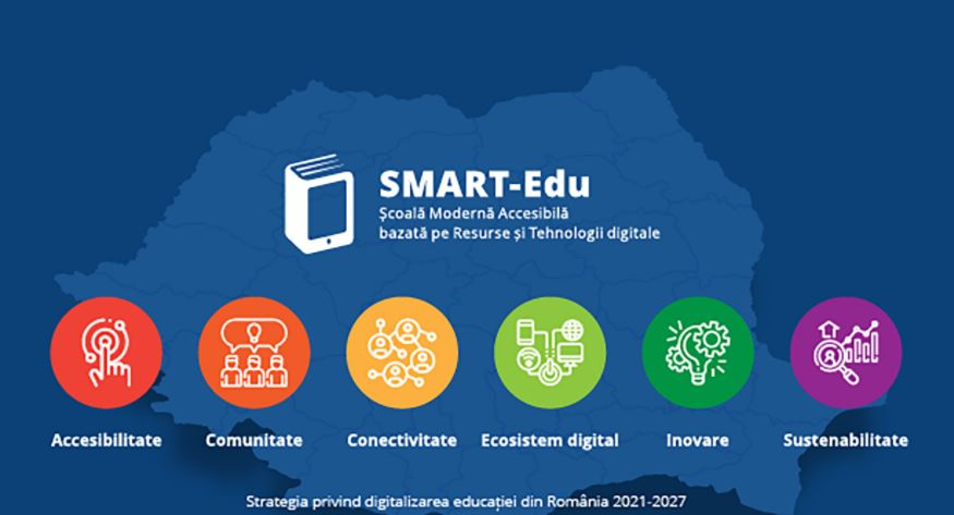 Strategia de Digitalizare a Educației din România 2021-2027 – SMART-Edu, lansată în consultare publică până în data de 15 februarie 2021
