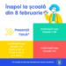 Elevii se întorc la școală începând de luni, 8 februarie! Învățământul primar și cel din grădinițe va fi reluat, cu prezență fizică, în aproape toate localitățile din România